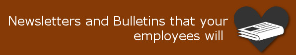 newsletters and bulletins for employees