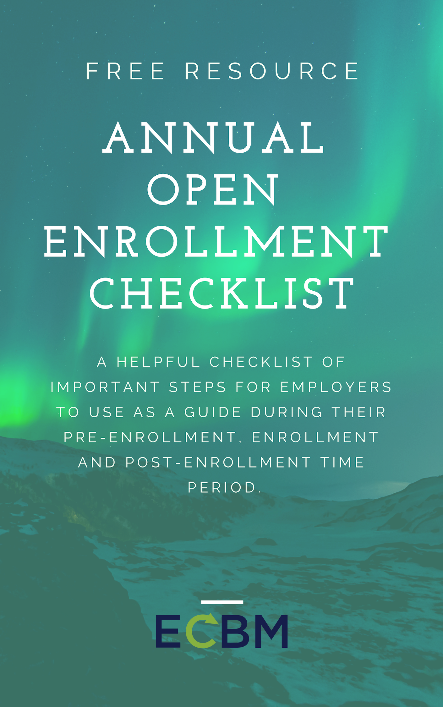 Annual Open Enrollment Checklist