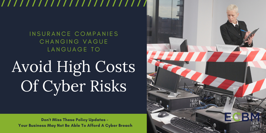 Avoid High Costs Of Cyber Risks