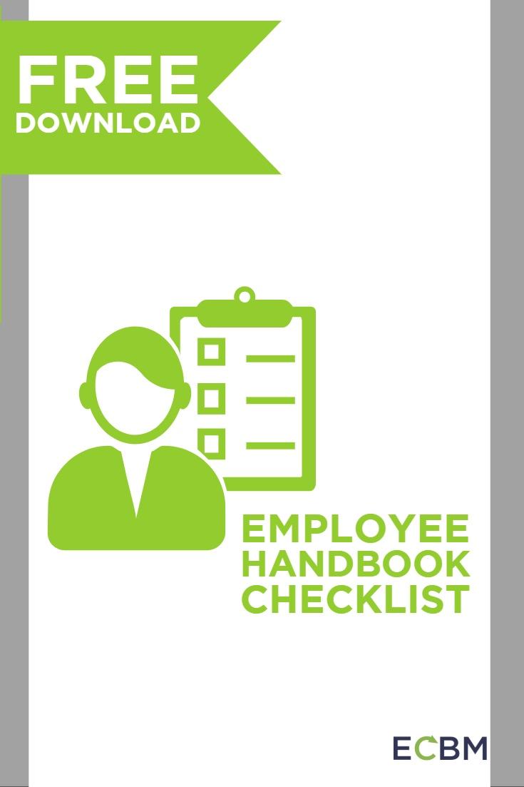 Employee Handbook Checklist Free Download Button tall