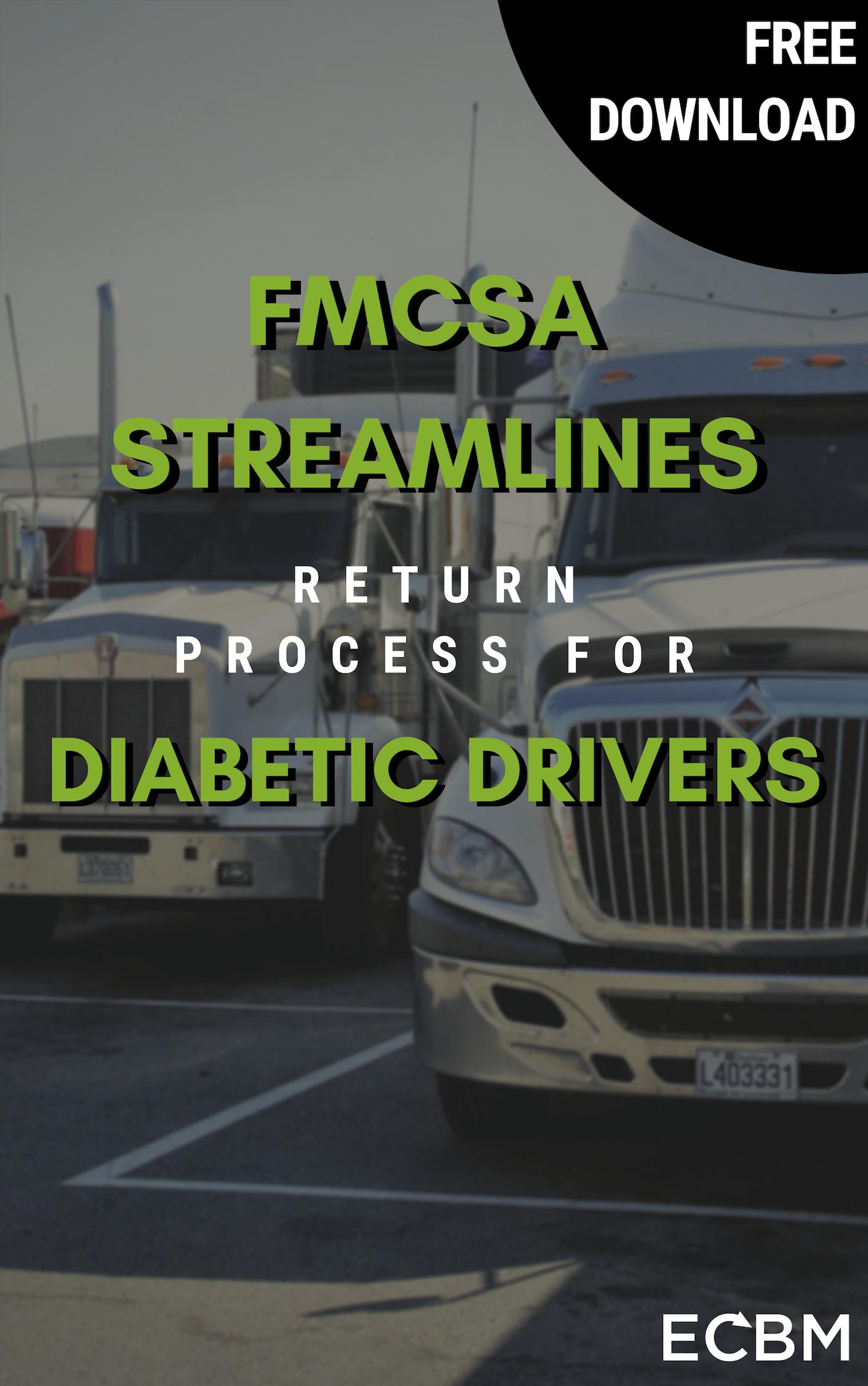 FMCSA Streamlines Return Process for Diabetic Drivers (1)
