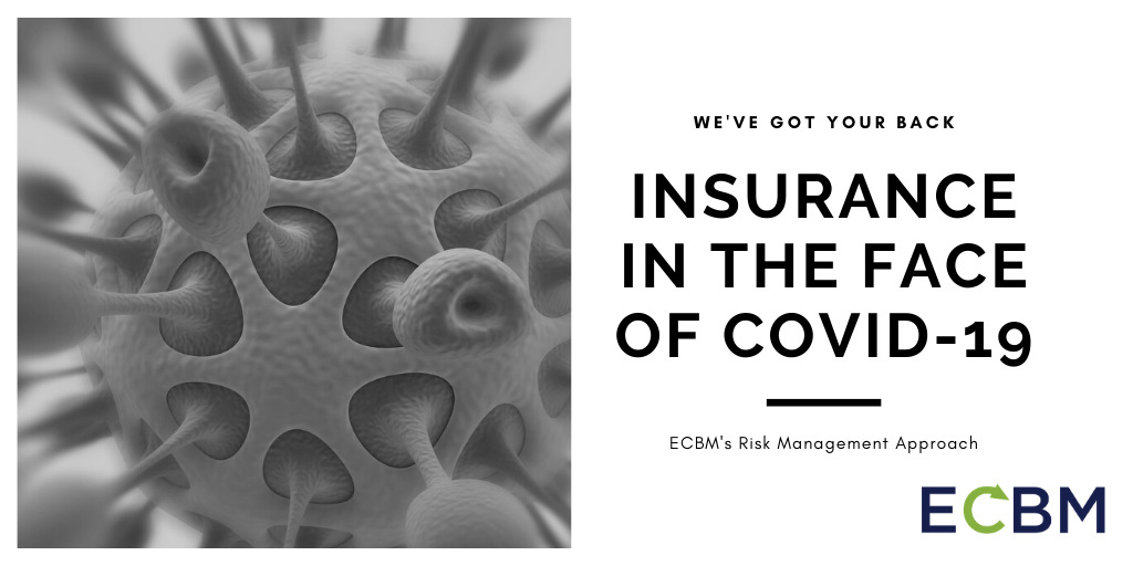 Insurance In The Face Of COVID-19 image with Coronavirus cell