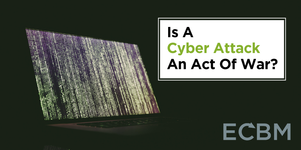 is a cyber attack an act of war image laptop