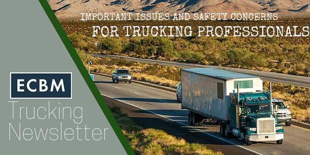 Sign up for trucking professionals newsletter