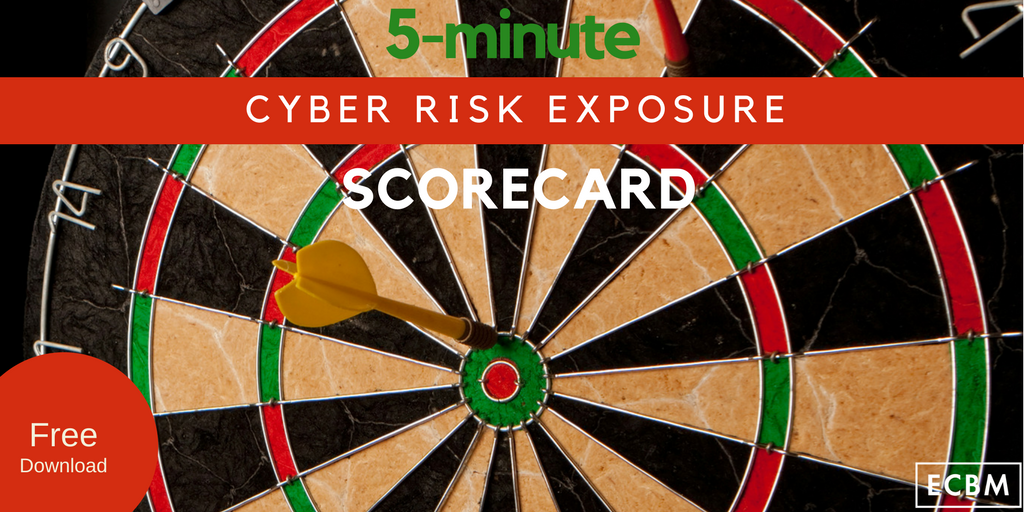 cyber risk exposure scorecard-Twitter